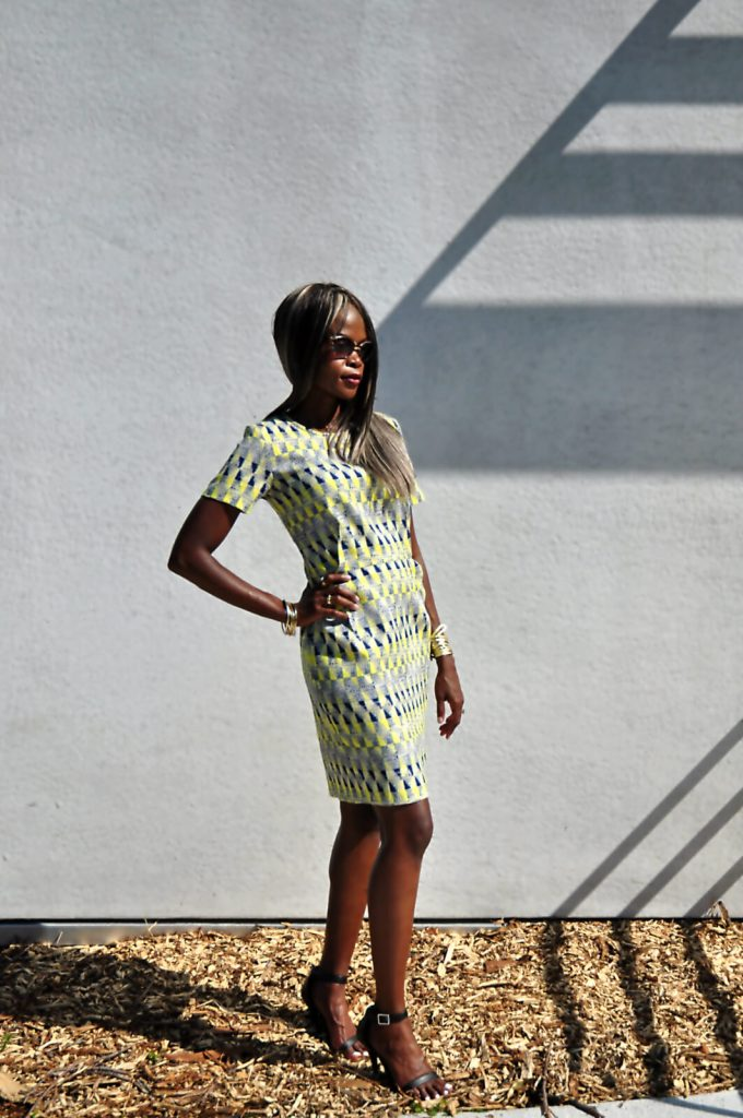winnipeg, winnipeg fashion blogger, summer prints, mayfair recreational centre, style my dreams blog, summer dresses, Yellow printed dress, black ankle strap heels- anne michelle , yellow dress, outfit, outfit of the day