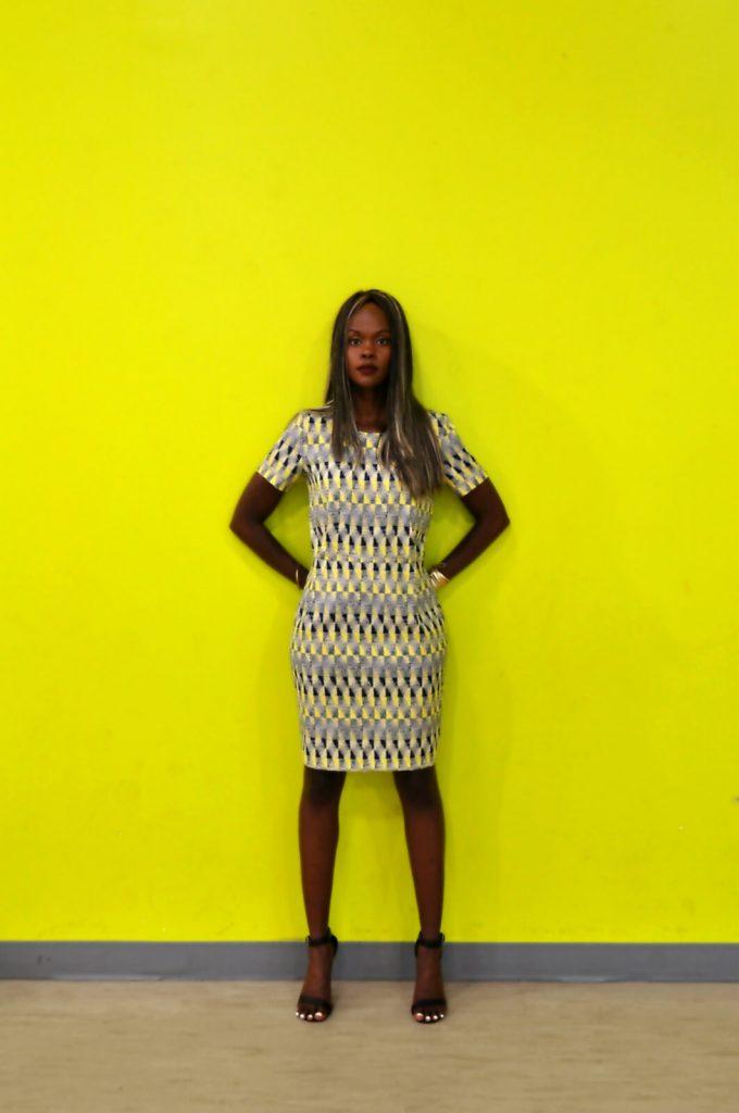 winnipeg, winnipeg fashion blogger, summer prints, mayfair recreational centre, style my dreams blog, summer dresses, Yellow printed dress, black ankle strap heels , outfits, yellow dress