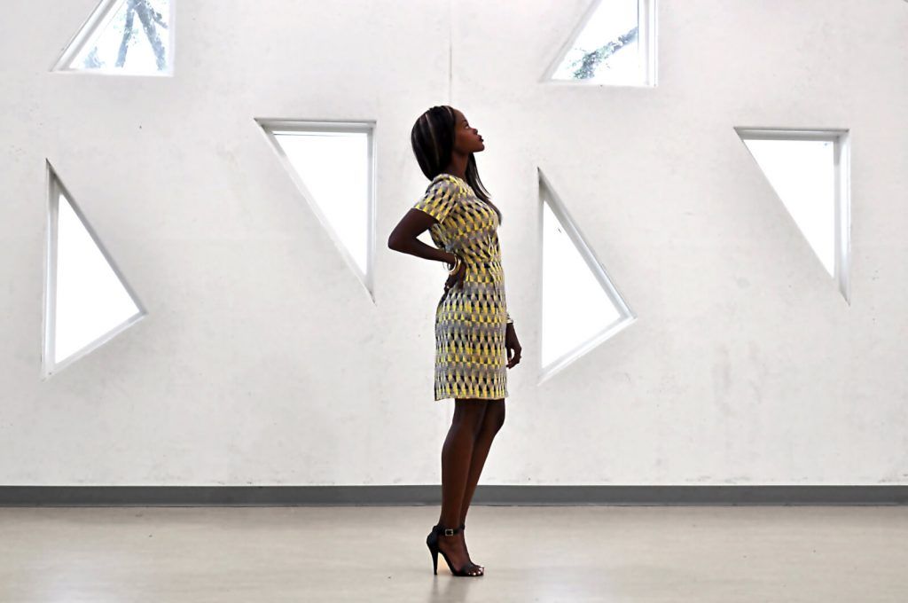 winnipeg, winnipeg fashion blogger, summer prints, mayfair recreational centre, style my dreams blog, summer dresses, Yellow printed dress, black ankle strap heels , yellow dress,  outfit, outfit of the day
