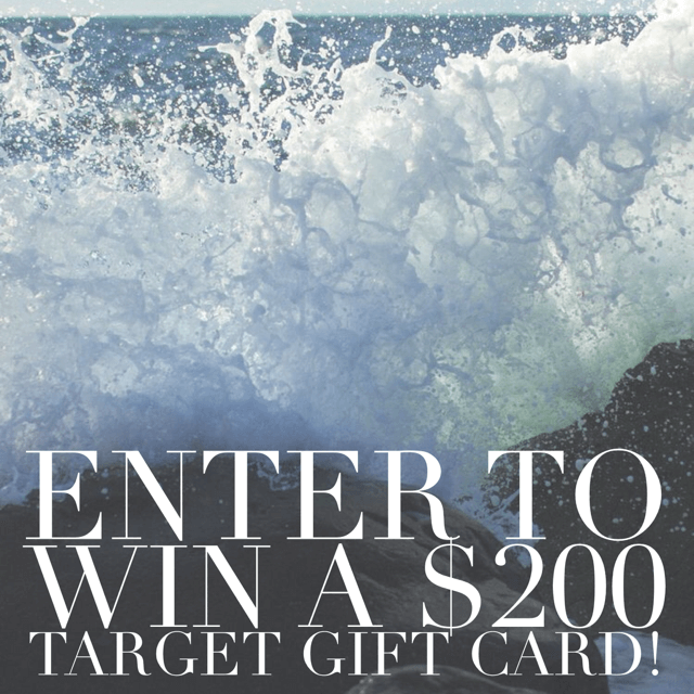 target giveaway, blogger giveaway