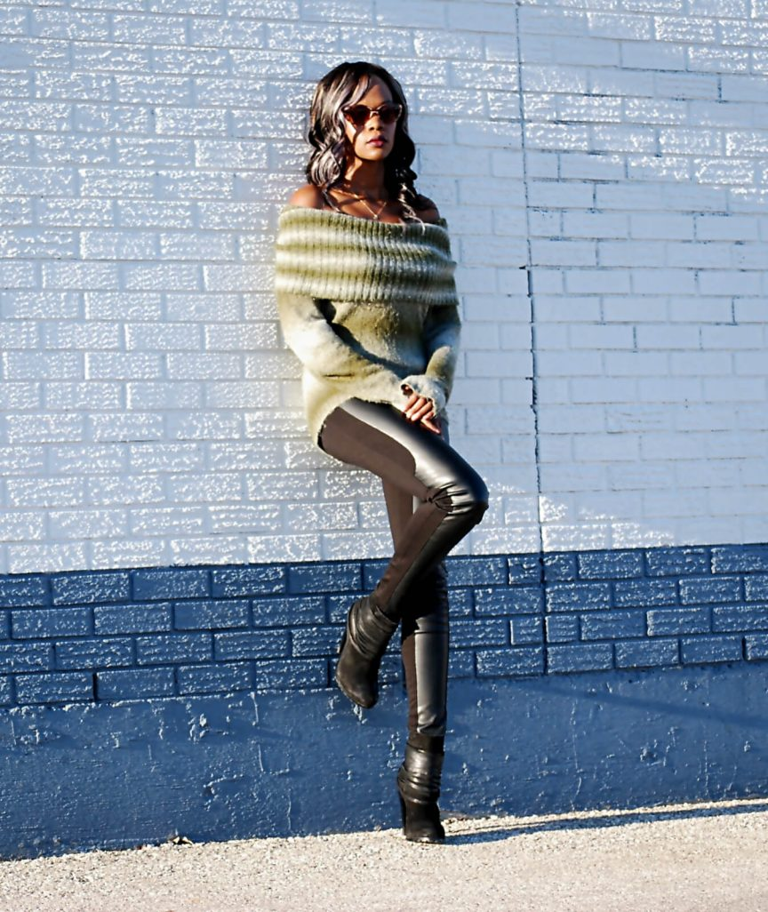 off the shoulder top, leather leggings, fringe booties, fall trends, off the shoulder sweaters, rebecca minkoff mac clutch, style my dreams blog, winnipeg blogger
