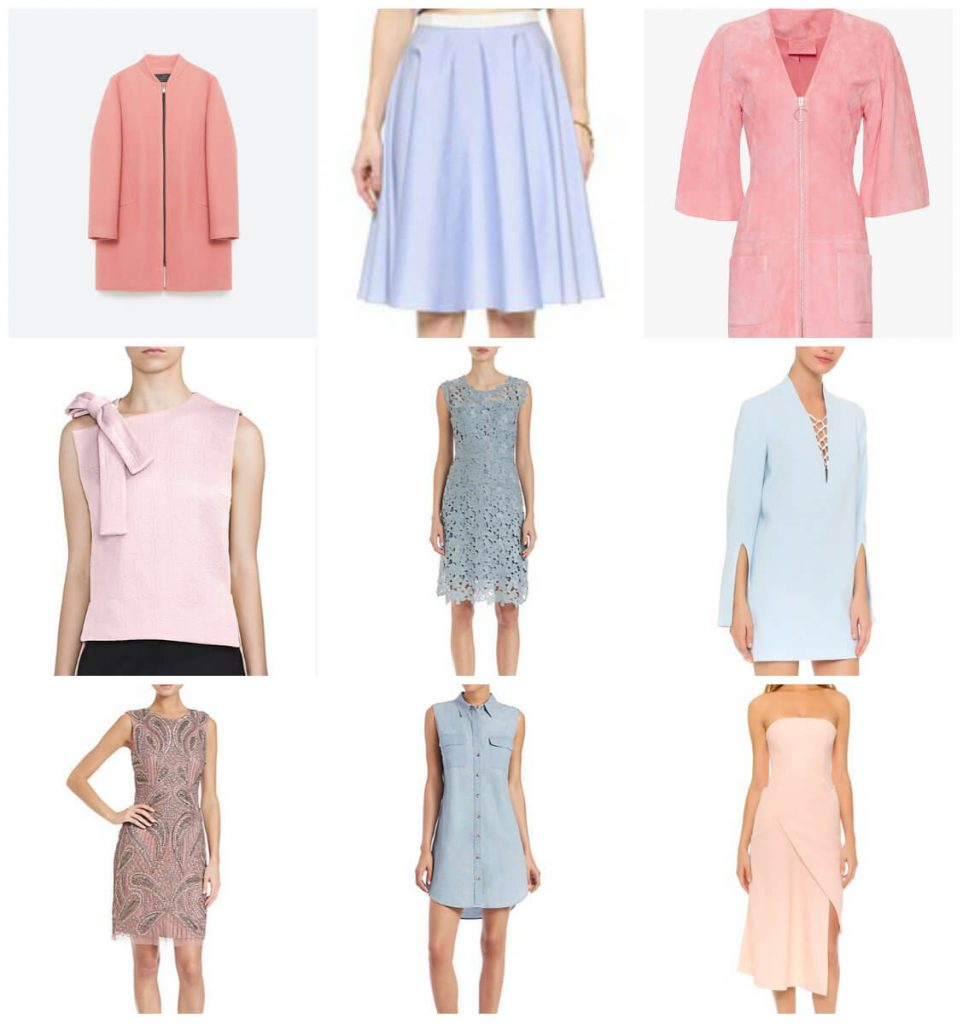 Pantone color of the year 2016 rose quartz and serenity, fashion color of the year, color chart, pale pink, baby blue, style my dreams blog, winnipeg blog