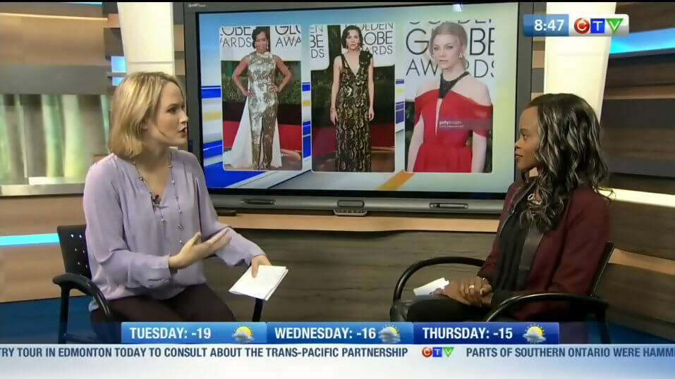 CTV Winnipeg, golden globes, style my dreams, Winnipeg blogger