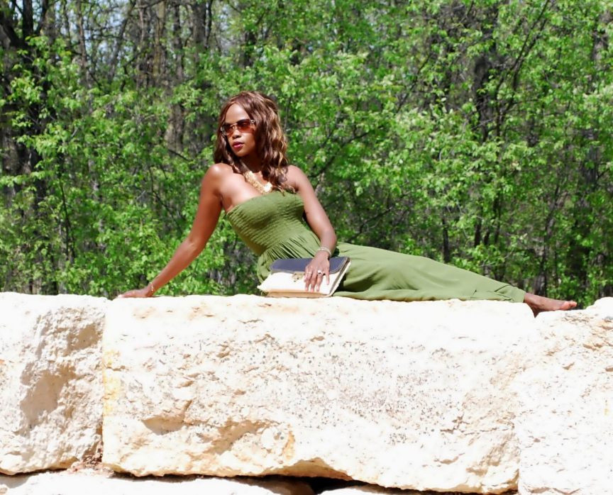 strapless maxi dress, summer trends, maxi dress, gold leaf necklace, style my dreams blog, Winnipeg fashion blogger, Winnipeg stylist