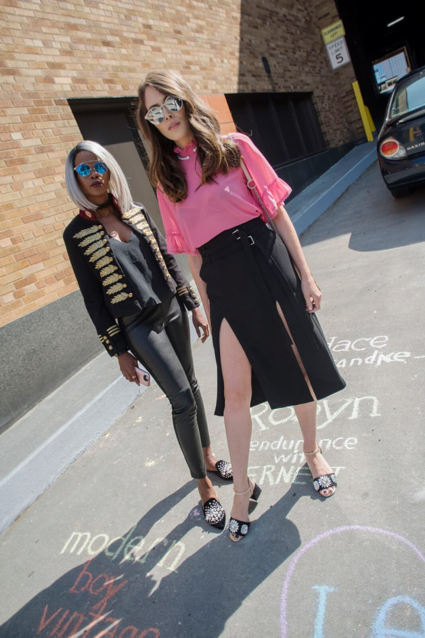 New York Fashion week, New york street style, winnipeg fashion blogger, embroidered band jacket,