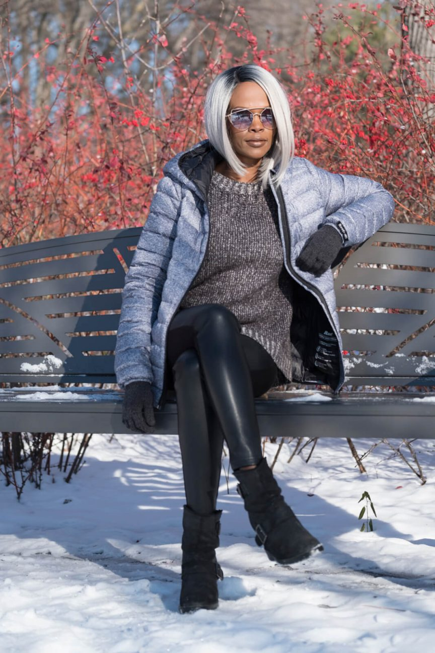 winnipeg fashion blogger, sweater weather, puffer jacket, how to style a puffer jacket, roots jacket
