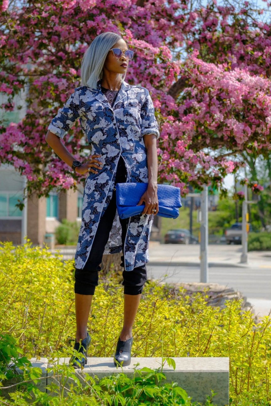 Floral print, Green Floral Dress, Summer Fashion, How to layer a shirt dress