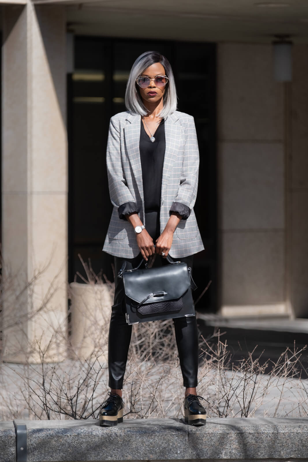 Boyfriend Blazer, Fall Trends, Blazers, Faux Leather Leggings, What to wear to work